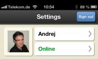 Mobiler Client für CommuniGate
