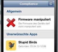 Compliance für Mobile Geräte