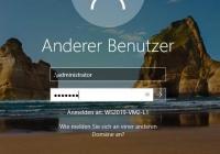 Windows-Logon mit Username und Passwort