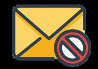 E-Mail abweisen