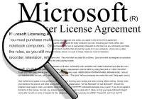 Lizenzierung von Microsoft-Produkten (EULA)