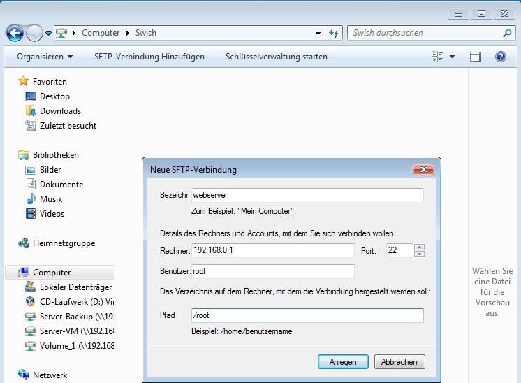 Swish: Sicherer SSH-Dateitransfer aus dem Windows Explorer | WindowsPro
