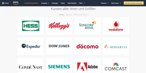 AWS-Fallstudien von Kunden aus verschiedenen Branchen