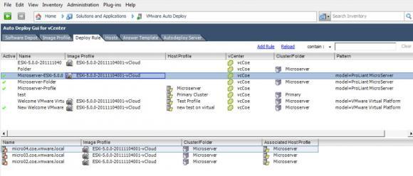 Auto Deploy GUI ist eine Alternative für Nutzer von vSphere 6.0, wenn sie PowerCLI nicht verwenden wollen.