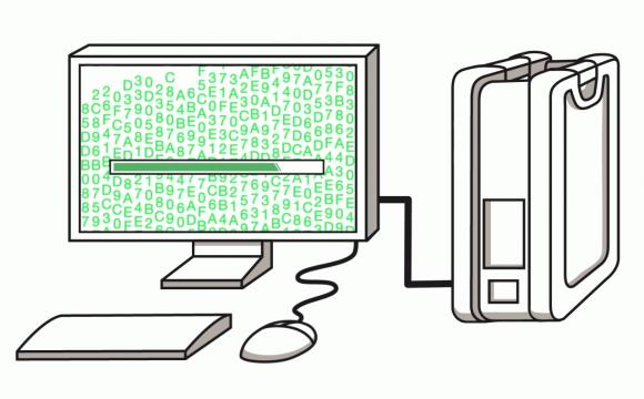 Im Rahmen von AWS Snowball stellt Amazon ein portables Storage zur Verfügung.