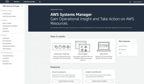 Die Funktionen von AWS Systems Manager