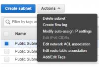 Subnets in einer VPC konfigurieren