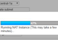 Einrichten einer NAT-Instance