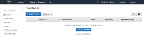 Neues Active Directory auf AWS erstellen