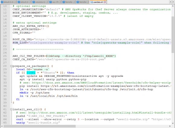 Beispiel-Script zur Installation von Ubuntu in einer EC2-Instanz mit Chef