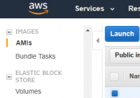 Amazon Machine Images (AMIs)