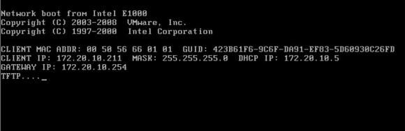 Beim Modus Stateless Caching soll der ESXi-Host versuchen, zuerst über das Netz zu starten