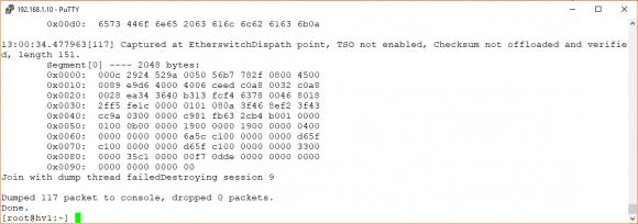 Live-Traffic eines physischen Netzwerkadapters aufzeichnen mit pktcap-uw