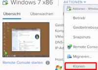 VM klonen in VMware vSphere
