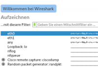 Traffic mitschneiden mit Wireshark