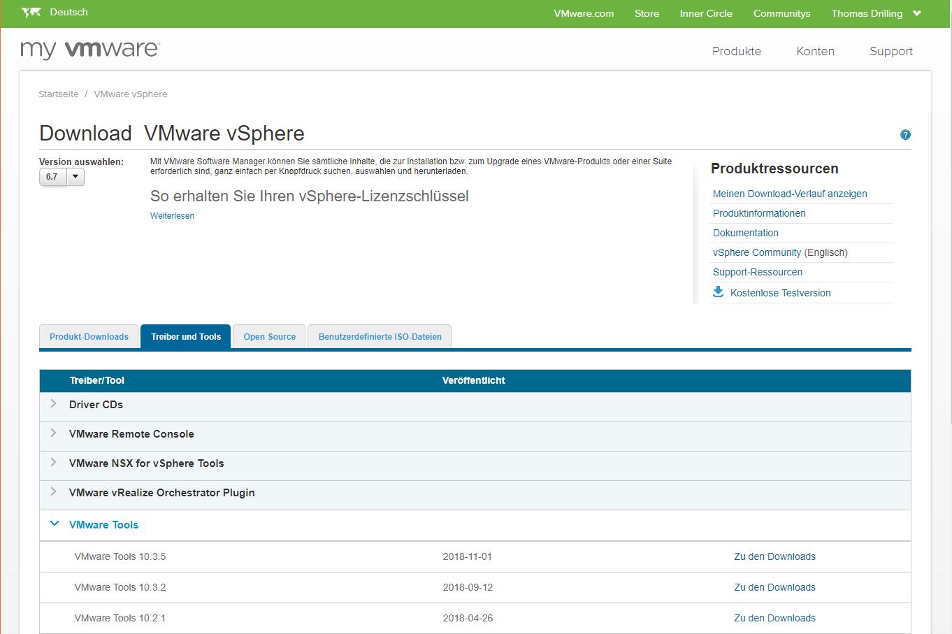 vmware tools 10.3 iso download