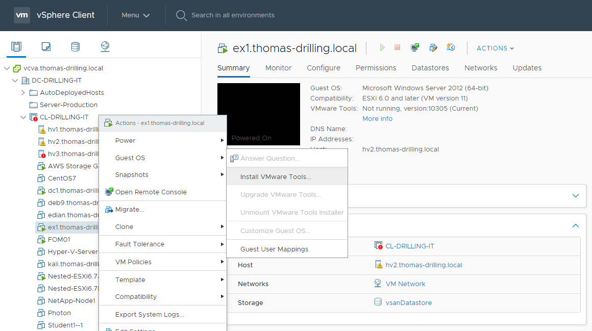 VMware Tools standardisieren und automatisch aktualisieren