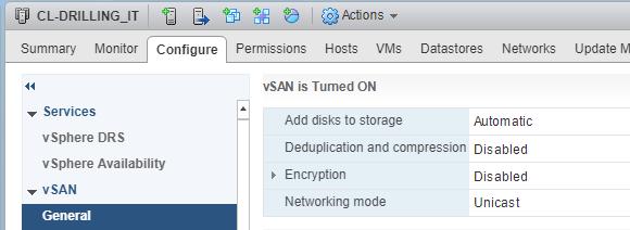 Seit der Version 6.6 unterstützt vSAN auch Unicast für die Cluster-Kommunikation