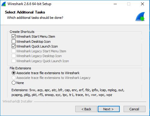 Das Setup von Wireshark kann man bis zu diesem Dialog durchlaufen, dann kommt der Capture-Treiber an die Reihe.
