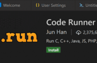 Code Runner in Visual Studio Code