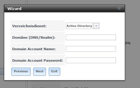 FreeNAS in das Active Directory integrieren
