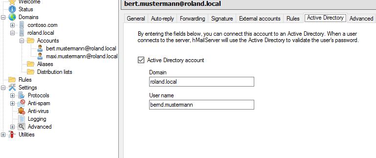 hMailServer: Freien Mail-Server für Windows installieren und