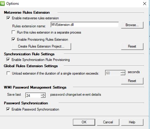 extension.dll für die Synchronisierung erstellen