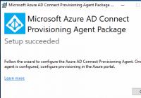 Agent für Azure AD Bereitstellung installieren