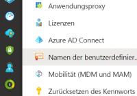 Benutzerspezifische Domain in Azure