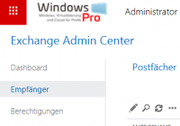 Neuen Benutzer in Exchange Online anlegen