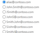 Exchange E-Mail-Adressrichtlinien