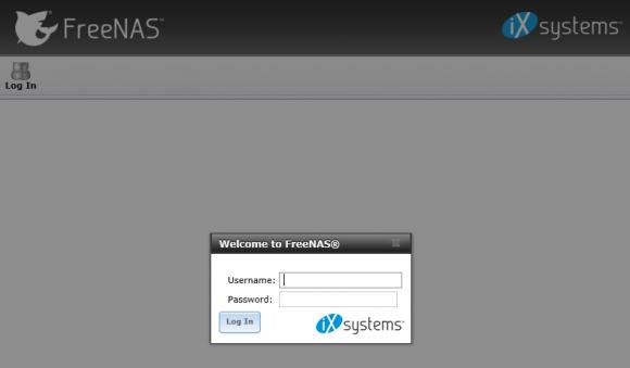 Web-Konsole für die Erstkonfiguration des System starten