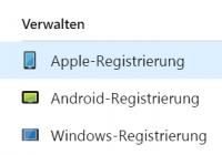 Geräte registrieren in Microsoft Intune