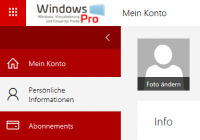 Profilbild in Office 365 ändern