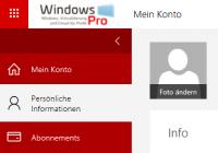 Profilbild in Office 365 ändern