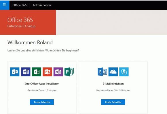 Setup für Office 365