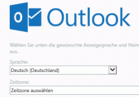 Anmeldung bei Outlook on the web (OWA)