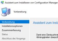SCCM-Client installieren