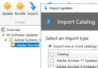 Kataloge von Drittanbietern in SCUP importieren