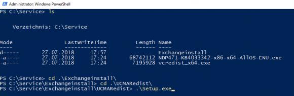 Installation der Microsoft Unified Communications Managed API