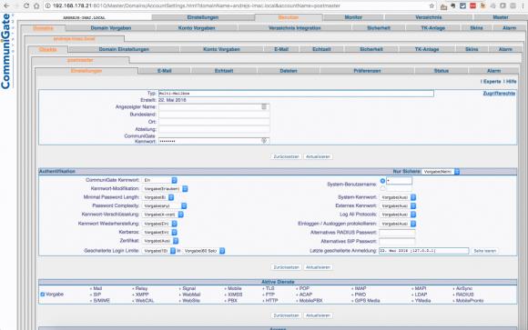 Die alte Web-GUI (Basic) ist zwar mächtig, aber unübersichtlich und optisch wenig ansprechend.