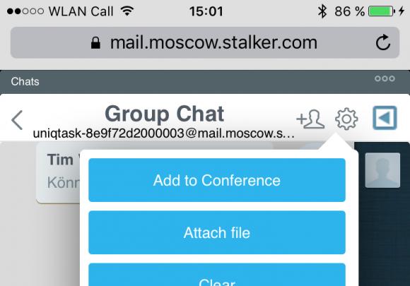 CommuniGate Pro integriert ein plattformunabhängiges Instant Messaging.