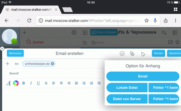 Pronto! HTML5 bietet mobilen Anwendern mit der Multifenstertechnik eine Desktop-ähnliche Nutzererfahrung.