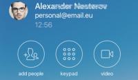 Mit der Pronto! Mobile App können mobile Anwender über VoIP telefonieren.