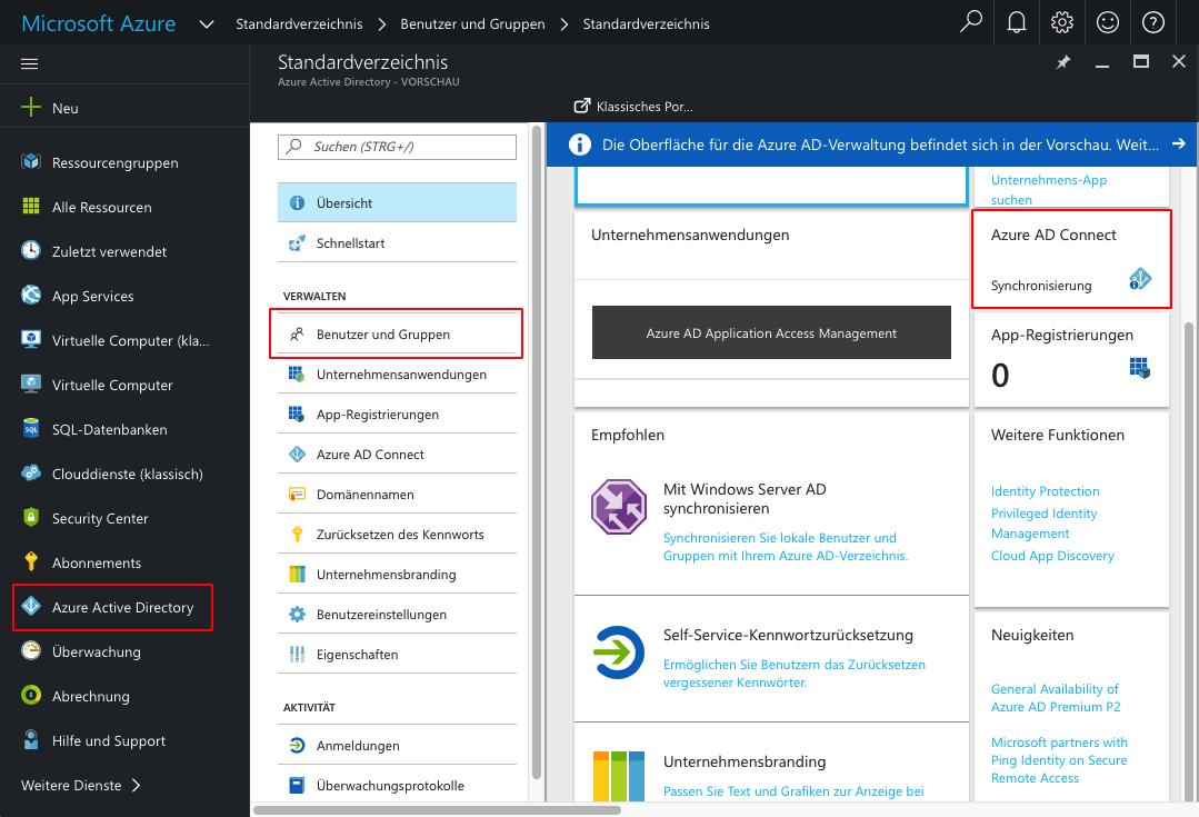 Azure Active Directory im Überblick: SSO, Sync, Management