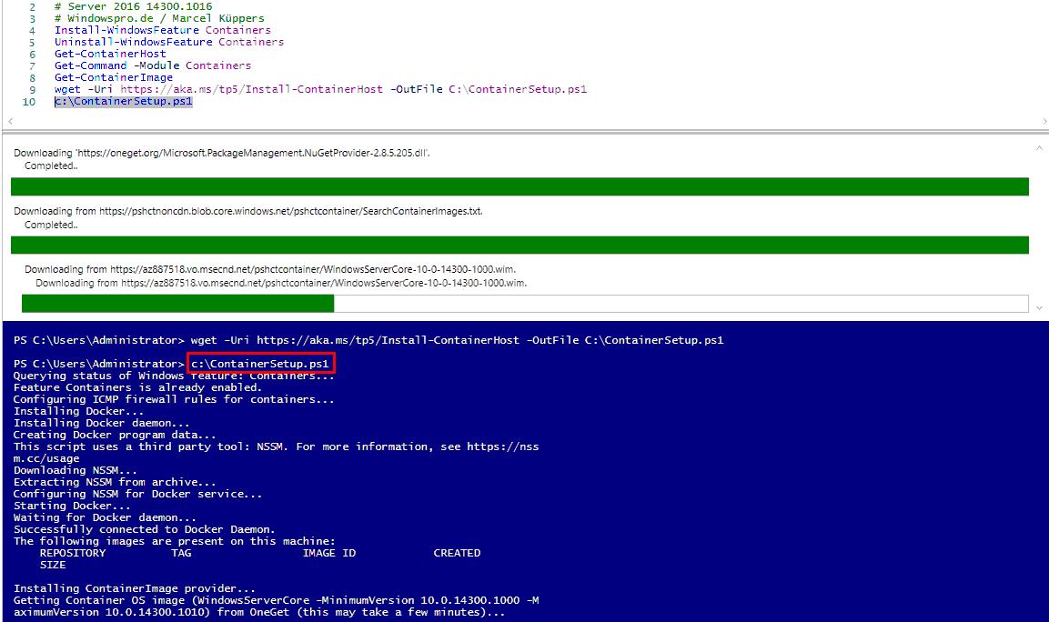 Anleitung: Windows Server 2016 Container erstellen | WindowsPro