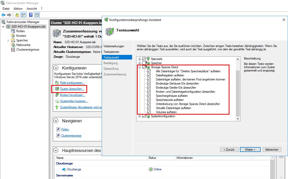 Insider Preview 17074 für Windows Server 1803: Neuerungen bei S2D