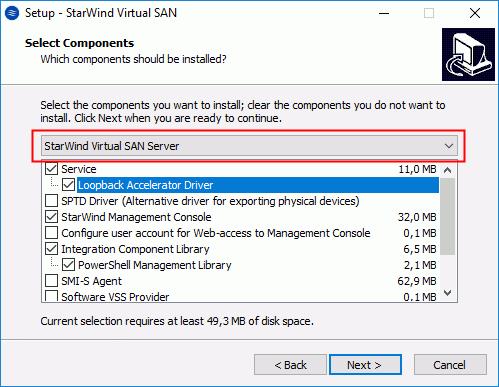 Die Management-Konsole wird hier direkt auf dem Windows Server 2016 Standard mit Desktop Experience installiert.