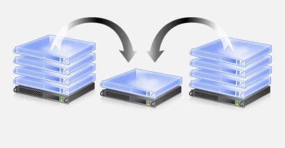 Beim Hinzufügen eines neuen Cluster-Knotens verschiebt Node Fairness VMs auf den freien Host.