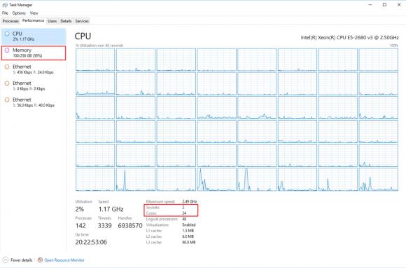 Mein Labor für Azure Stack nutzt 100 GB RAM ohne IaaS-Maschinen